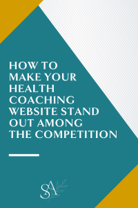 How to Make Your Health Coaching Website Stand Out Among the Competition
