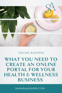 What You Need to Create an Online Portal for Your Health & Wellness Business