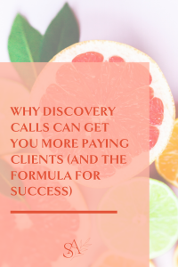 Why Discovery Calls Can Get You More Paying Clients (And The Formula For Success)